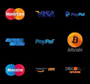 Modalità di pagamento servizi social